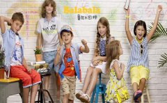 商机创业网谈巴拉巴拉童装加盟费