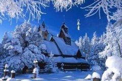 冬至快乐祝福语大全,雪花谱写出旋律