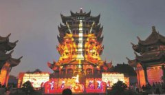 1985年以来黄鹤楼首次开放夜游,打造